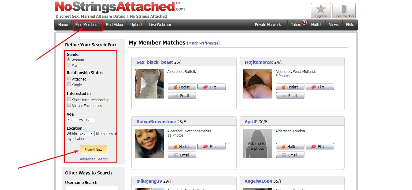 nostrings attached.com dating