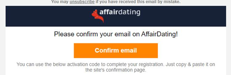 affairdating review